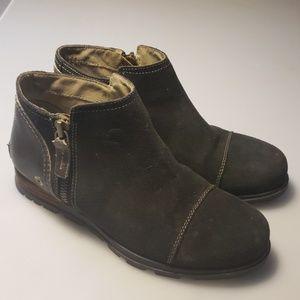 Sorel ankle booties